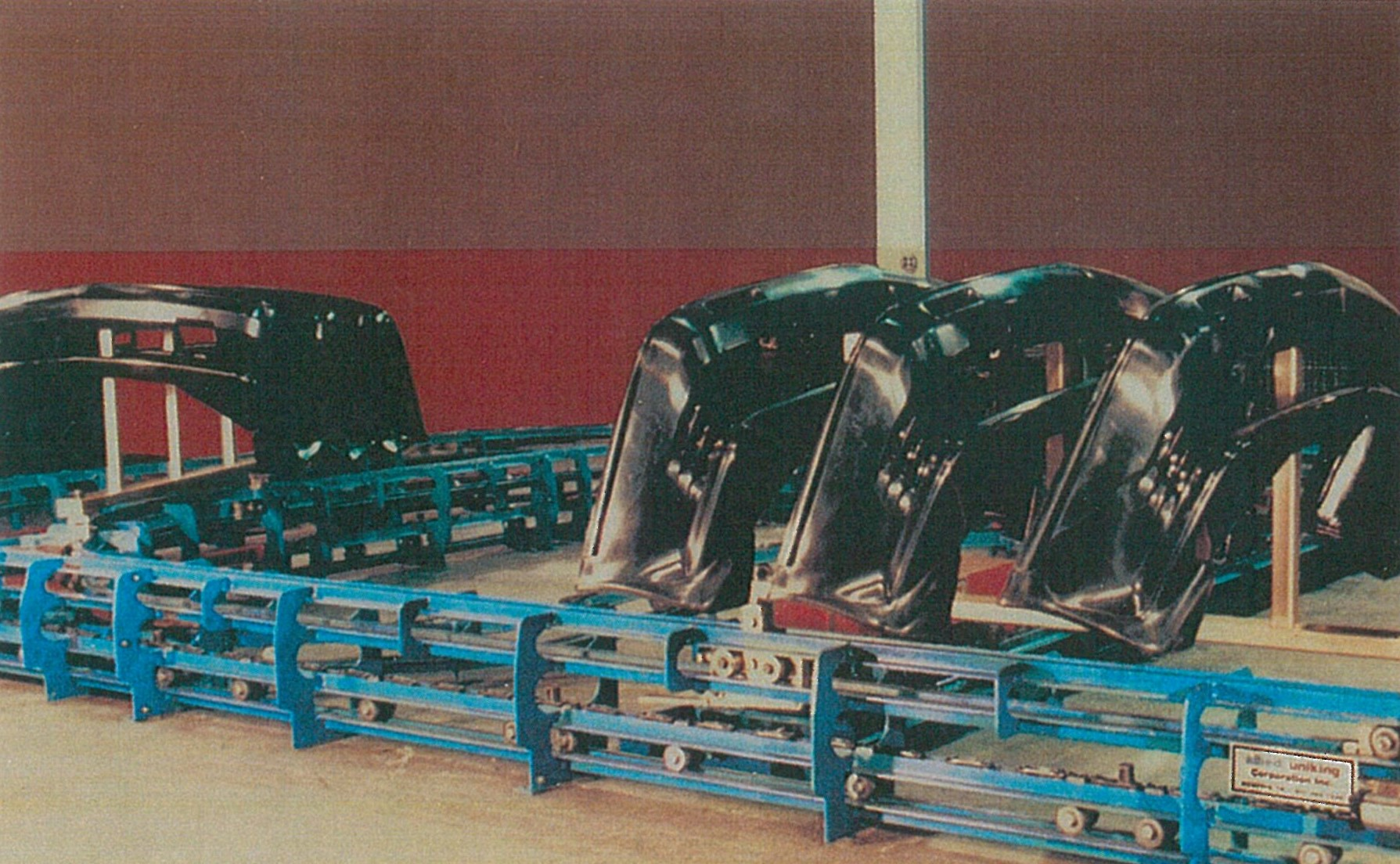 Old Inverted Power & Free Conveyor